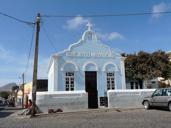 Assomada, island of Santiago, Cape Verde Church of the Nazarene