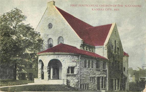 Kansas City, MO, First Pentecostal Church of the Nazarene