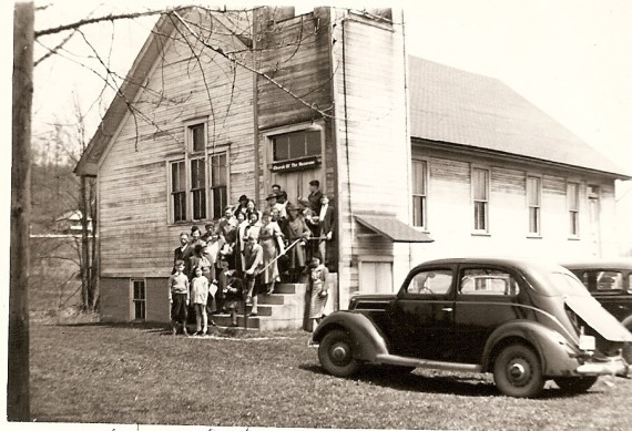 Warwick, OH Church of the Nazarene, 1937.