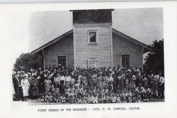 Bonham, TX Church of the Nazarene, 1939.