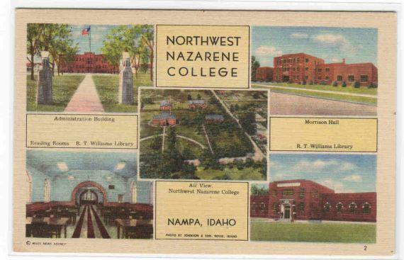 Nampa, Idaho Northwest Nazarene College