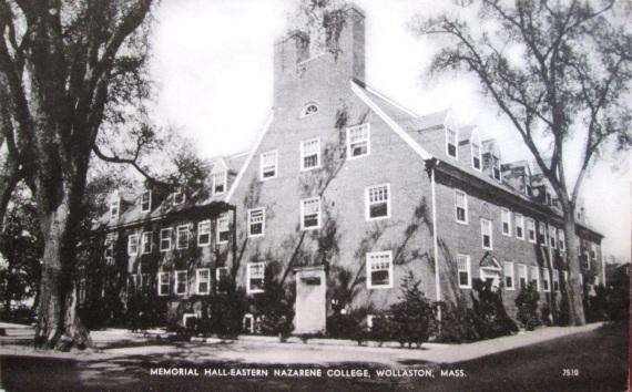 Quincy, Massachusetts Eastern Nazarene College, Memorial Hall