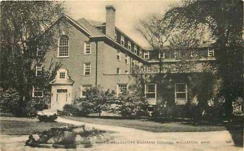 Quincy, Massachusetts Eastern Nazarene College, Munro Hall