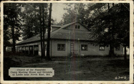 North East, Maryland Camp meeting house and grounds