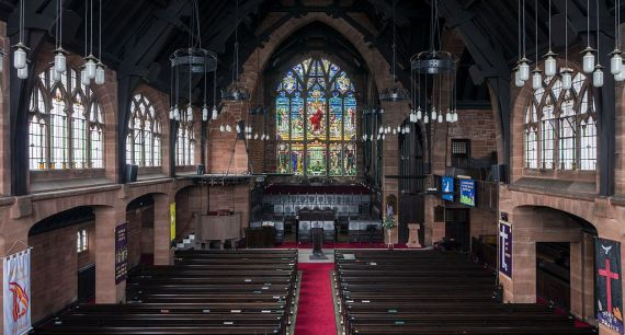 Paisely-Scotland-St_Matthews_Church_of_the_Nazarene-interior