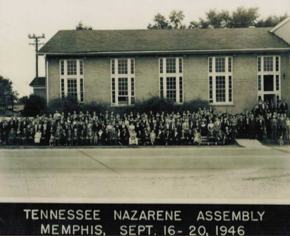 Memphis, TN Calvary Church of the Nazarene, 1947.