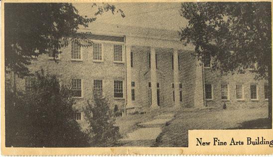 Nashville, Tennessee, Trevecca Nazarene College New Fine Arts Building